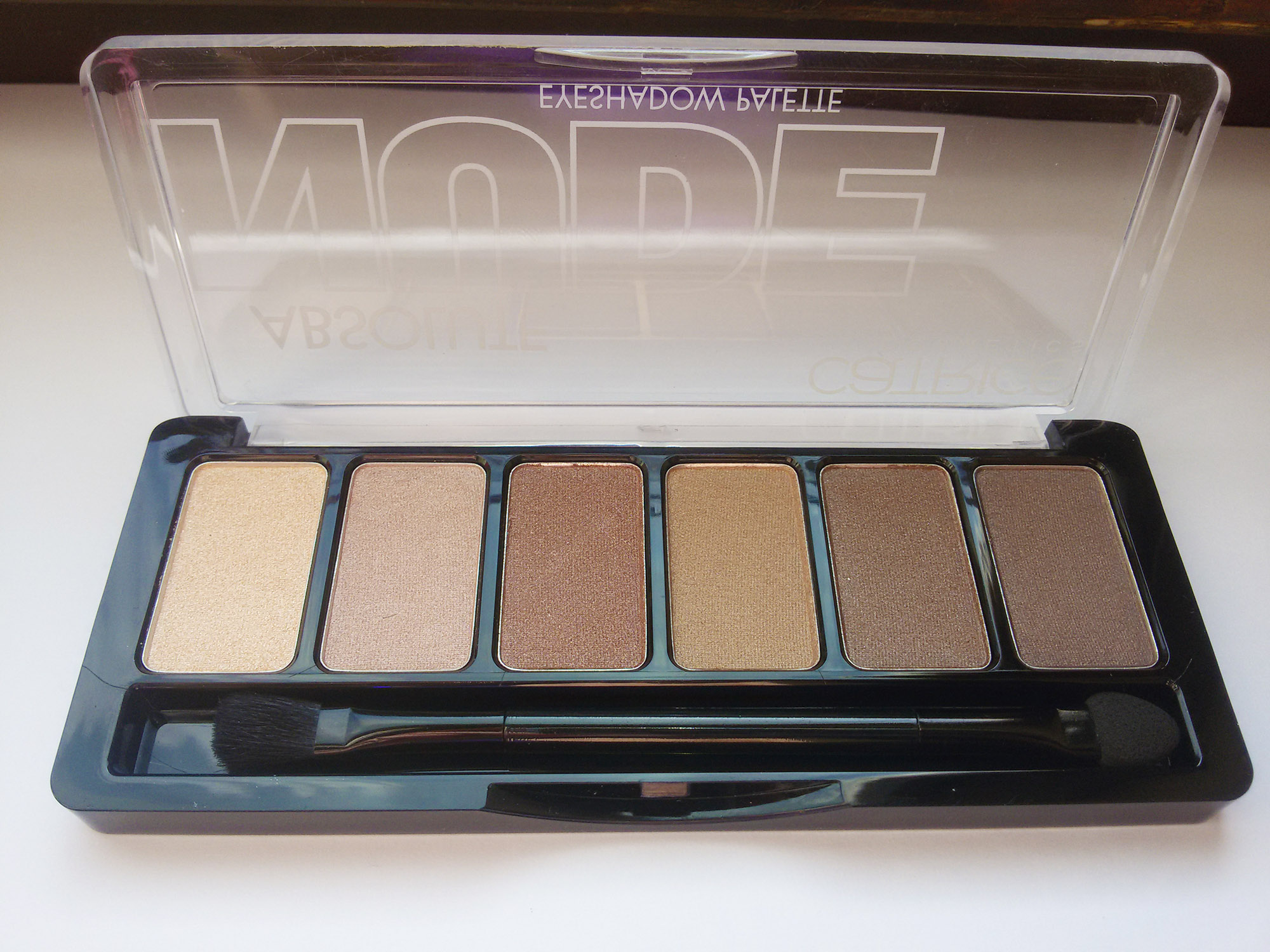 Тени Catrice Absolute Nude Eyeshadow Palette 010 All Nude