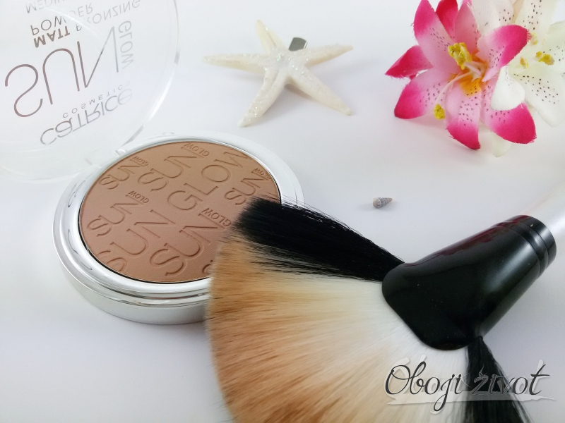 Sun Glow Matt Bronzing Powder medium skin