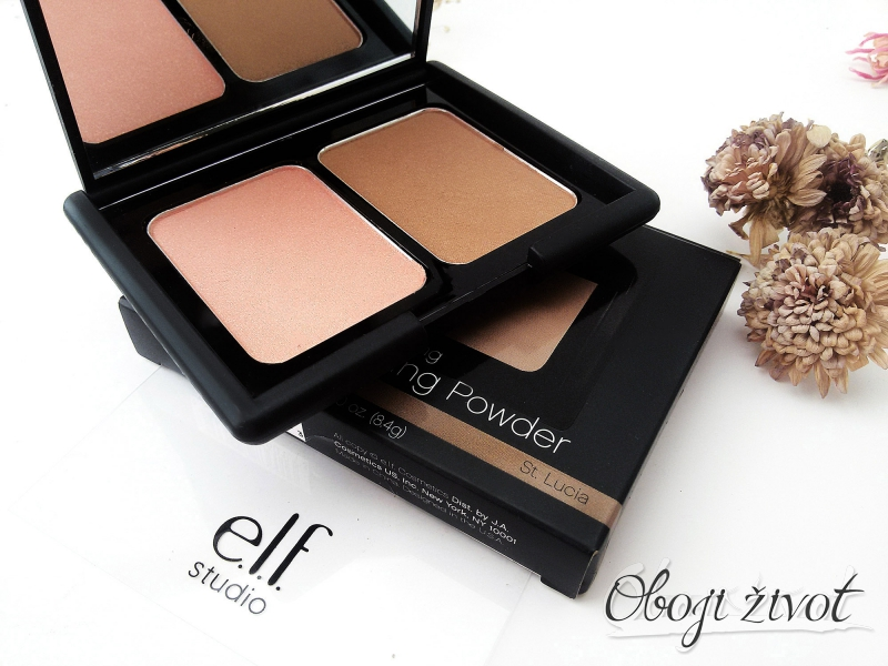 elf blush & bronzing powder st. lucia